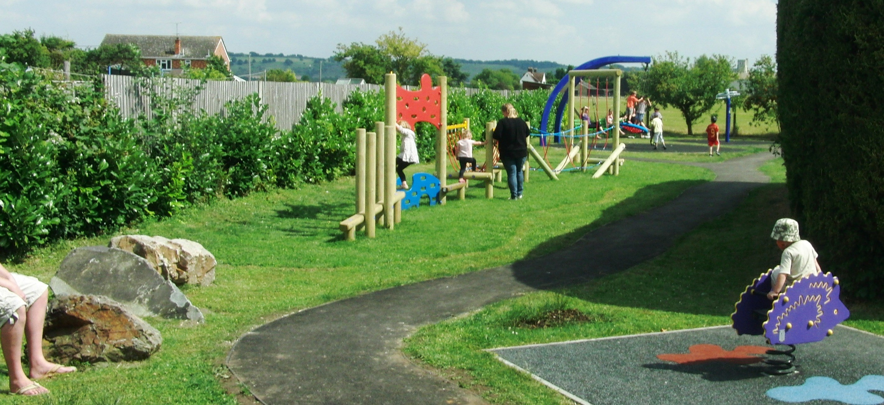 Northall Village hall Play Area